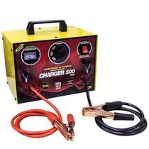 Carregador de Bateria 12v Charger 500Box Bivolt 110208 V8 Brasil -