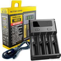 Carregador De Bateria 18650 Nitecore New I4 18650 -