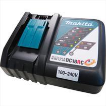Carregador De Bateria 18V Bivolt Makita DC18RC -