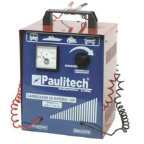 Carregador de Bateria Automotivo 15A 12V Portátil Bivolt Paulitech -