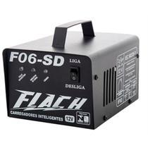 Carregador de Bateria Flach 12V Bivolt F06SD -