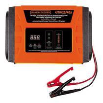 Carregador De Bateria Inteligente 40a Led Black+decker Bc40 - Black + Decker