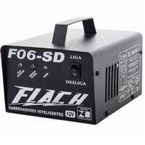 Carregador De Bateria Inteligente F06-sd Flach -