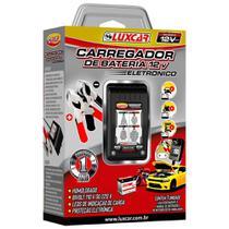 Carregador De Bateria Portátil Eletrônico 12v Luxcar Selo INMETRO -