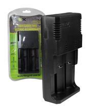 Carregador de Baterias 18650 18500 22650 26550 Flex FX-C09 - Xcell