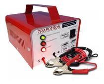 Carregador de baterias para carro e moto 5A Lenta - Trafotron