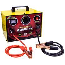 Carregador de Baterias Profissional 50A 12V com Auxilixar de Partida V8 BRASIL-CHARGER500BOX -