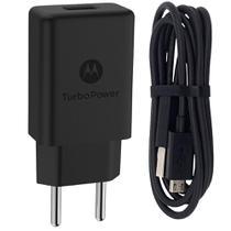 Carregador de Parede MotorolaTurbo Power USB Micro Tipo-A 18w Preto -