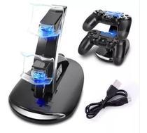 Carregador Duplo Compativel Ps4 Playstation 4 Base Dock 2 Controle Sony Marca - Vex - DACAR