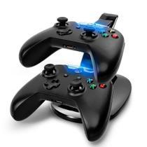 Carregador Duplo Para 2 Controles Xbox One Dock Station Base - DOBE