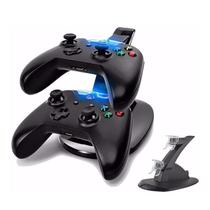 Carregador Duplo Para 2 Controles Xbox One Dock Station Base - Rpc