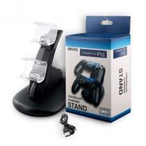 Carregador Duplo Para Controle de Playstation Ps4/Slim e Pro - Oivo