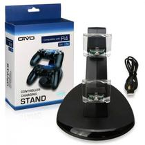 Carregador Duplo para controle playstation  4 Base vertical - PS4 - Oivo