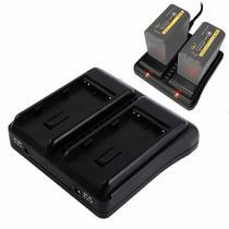 Carregador Duplo Rolux RL-EXC2 para Bateria Sony BP-U (Bivolt) - Rolux / Worldview