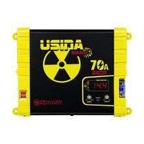 Carregador e Fonte De Bateria  70A 12v Multi Meter Bivolt - Usina