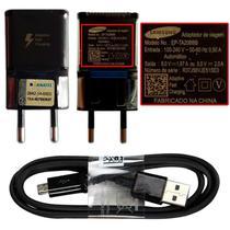 Carregador Fast Charge Preto Samsung Galaxy S6 Edge G925i -