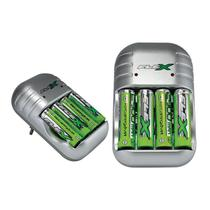 Carregador Flex FX-C04 para Pilhas e Baterias Com 4 Pilhas -