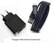 Carregador + Fonte Parede - Cabo V8 Compatível com Zenfone - Global