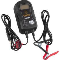 Carregador Inteligente Bateria 60w Carro Moto 6 A 12v Vonder 127v -