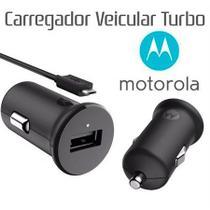 Carregador MOTO G6 XT1925 Veicular - Motorola