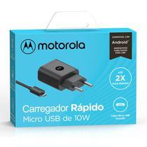 Carregador Motorola Moto G5 Plus Turbo Power Anatel -