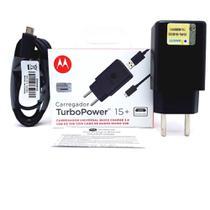 Carregador Motorola Original Turbo Power Moto G4 Play -