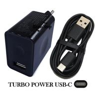 Carregador Motorola Turbo Usb Tipo C Moto Z2 Z3 Play One X4  G6 Plus G7 Power M15004 - Russo shop