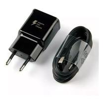 Carregador Original Samsung Turbo Tipo C - S9 S10 S20 S21 Carregador Samsung P/ Galaxy A51 A71 A70 A50 S10 S20 2 USB-C -