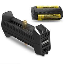 Carregador Para Baterias De Lítio Nitecore F2 -