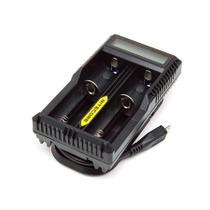 Carregador Para Baterias De Lítio Nitecore Um20 -