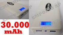 Carregador Portátil 30.000 mah, Carregador Universal Celular Bateria Portátil para Tablet Ipad Iphone Smartphone 30000mah - Power Bank