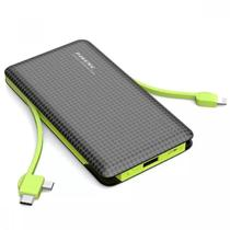 Carregador Portatil Bateria Power Bank Original 10000 mah Lightning e Type C - Pineng