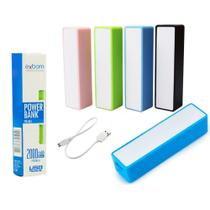 Carregador Portátil Power Bank 12000 mAh  Global Time - Exbom