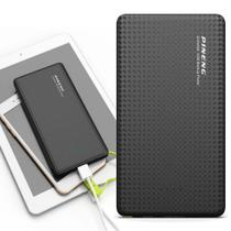 Carregador Portátil Power Bank Bateria Pineng 10000mah Para samsung a20 Slim -