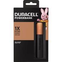 Carregador Portátil Powerbank Duracell 3350mAh - Preto -