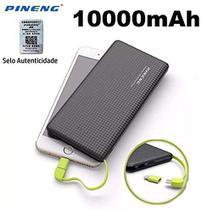 Carregador Portátil Powerbank Pineng 10000mah Dual Usb -