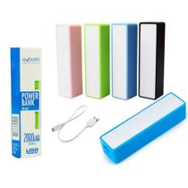 Carregador Portatil Universal Power BANK 2000 MAH EXBOM PB-M1 Generico -