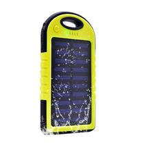 Carregador Power Bank Solar 4000mah Amarelo - Lotus LT-555