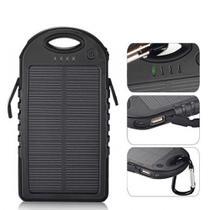 Carregador Power Bank Solar 4000mah Preto - Lotus LT-555