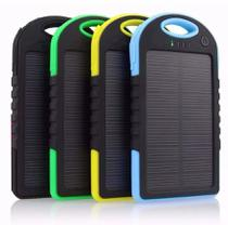 Carregador Power Bank Solar Prova Dágua E Poeira Universal - Solar charge