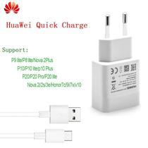 Carregador Quick Charge 3.0 Huawei Com Cabo Type-C - Branco -
