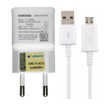 Carregador samsung 1.55a micro usb v8 original ep-ta508w -