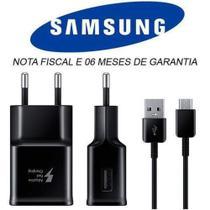 Carregador Samsung Original Galaxy USB C, S10 S10 Plus S8 S9 A20 A30 A50 A70 A80 Note 8 Note 9 A5 A8 - Tipo