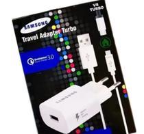 Carregador Samsung Original Travel Adapter Turbo 30w TIPO V8 -