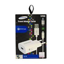 Carregador Samsung Turbo - Travel Adapter Turbo - ORIGINAL - 30W - TIPOC -