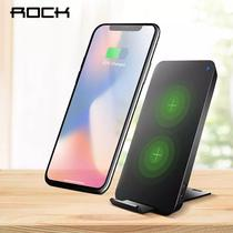 Carregador Sem Fio 10w W8 Rock iPhone 8 X Sansung S7 S8 S9 -