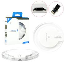 Carregador Sem Fio Charger Wirelless + Receptor Qi Ios Iphone Wirelles Charger GENERICO - Fantasy