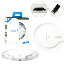 Carregador sem Fio Charger Wirelless + Receptor QI iOS iPhone Wirelles Charger Generico - Genérico