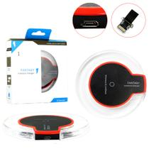 Carregador sem Fio Charger Wirelless + Receptor QI iOS iPhone Wirelless Charger Generico - Vitrine