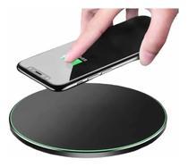Carregador Sem Fio Wireless Qi Indução Compativel Linha Galaxy S6, S7, S8, S9, S10, S20 S21Marca FAM - DACAR